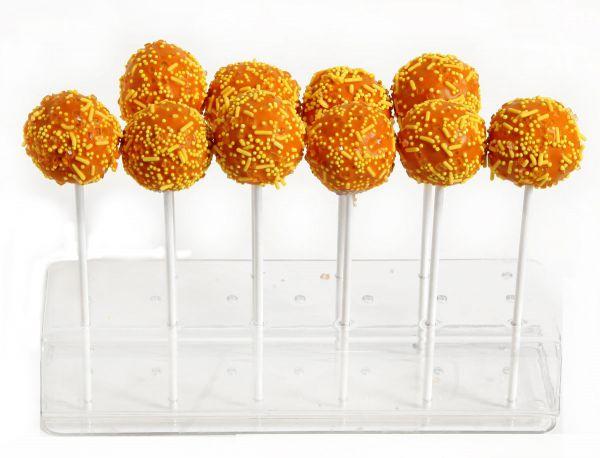 10 Aprikose Orange Cake Pops