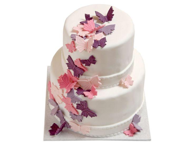 Schmetterlinge - Hochzeitstorte online bestellen - Onlineshop ...