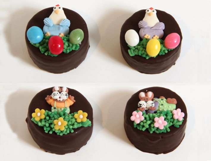 12 Lustige Ostern Törtchen