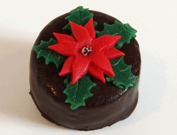 12 Weihnachts Törtchen Weihnachtsstern