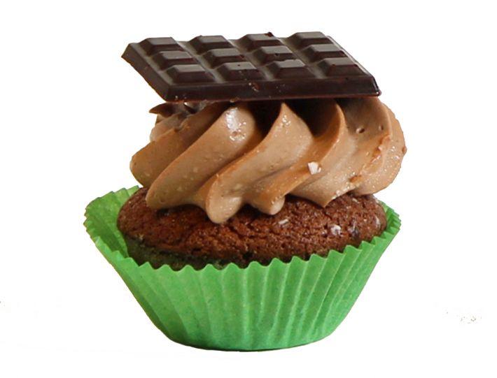 6 Schoko Cupcakes