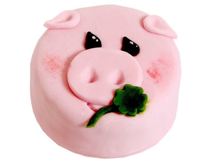 12 Weihnachts Törtchen Glücksschwein