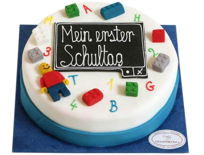Baustein Einschulungs Torte