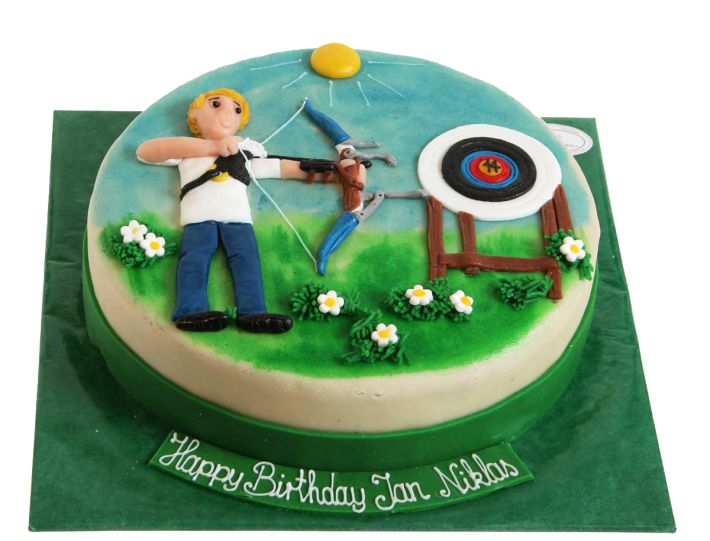 Bogenschützen Torte