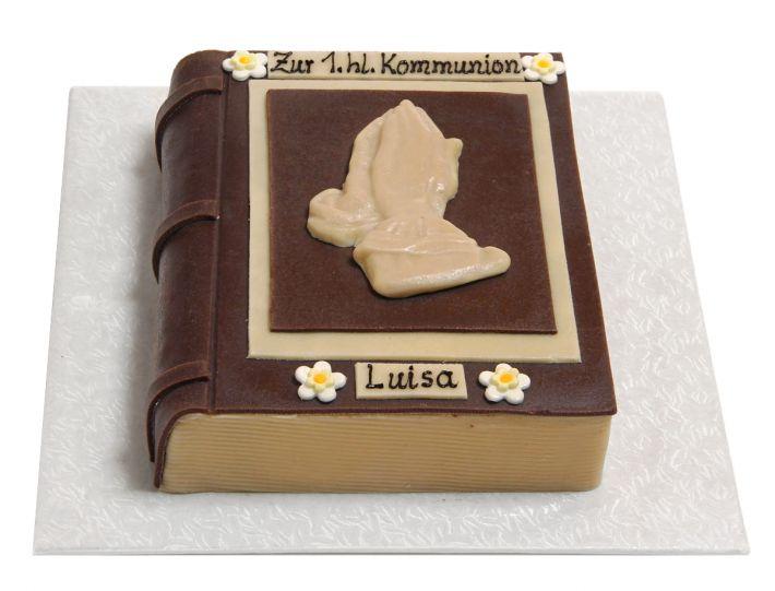 Buch mit Dürer Händen Torte