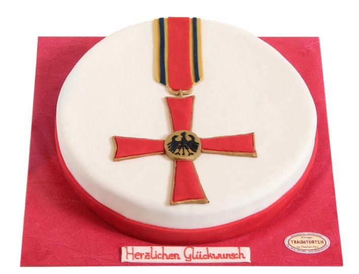 Bundesverdienstkreuz Torte