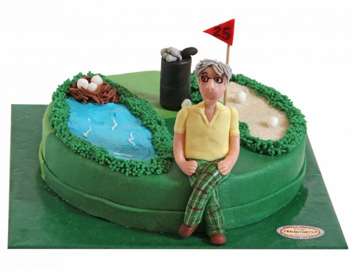 Der Golfer Torte