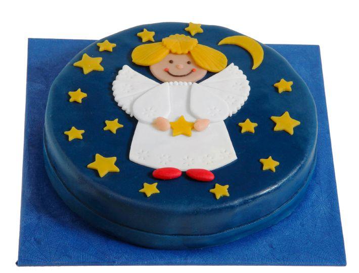 Engel Weihnachts Torte