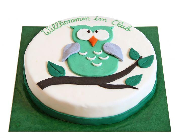 Eule Torte