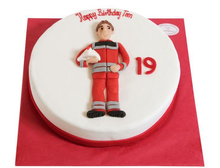 Feuerwehrmann Torte
