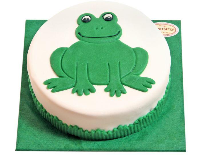 Fröhlicher Frosch Torte