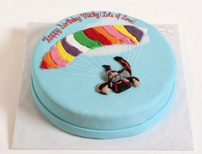 Gleitschirm Torte