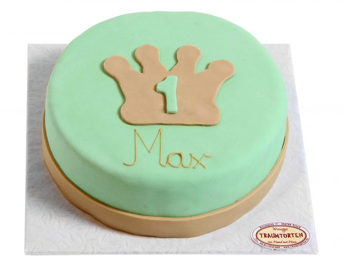 Grüne Krone Torte