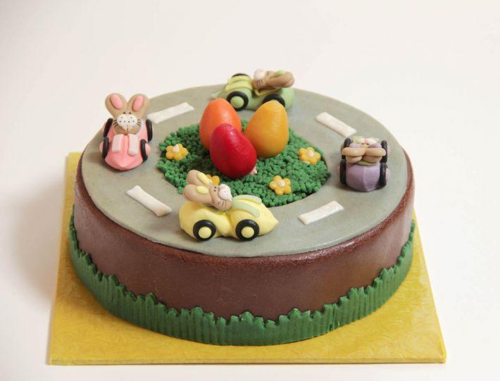 Hasenrennen Torte