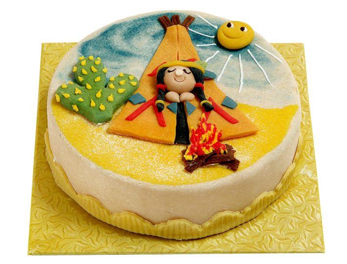 Indianerzelt Torte