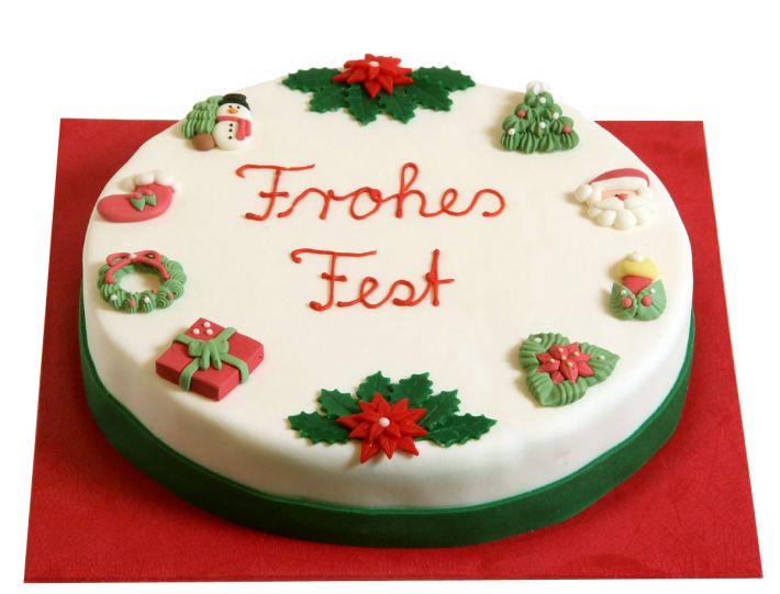 Klassisch I Weihnachts Torte