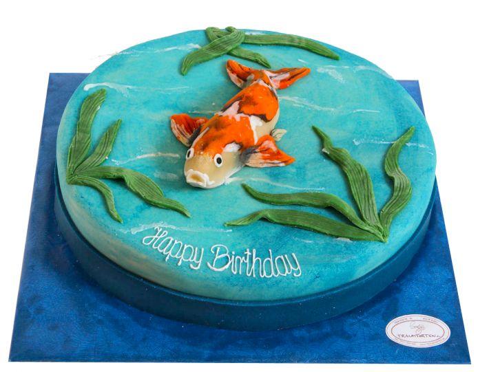 Koi Torte