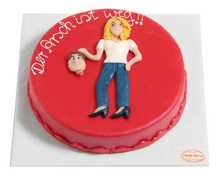 Kopf ab Scheidungs Torte