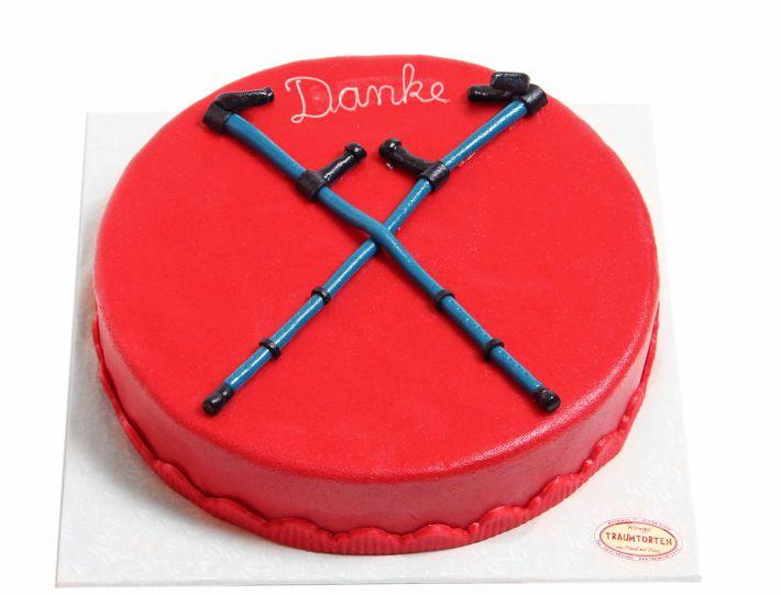 Krücken Torte