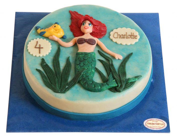 Meerjungfrau Torte