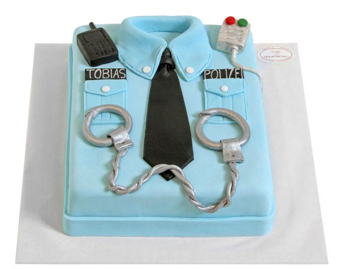 Polizisten Hemd Torte