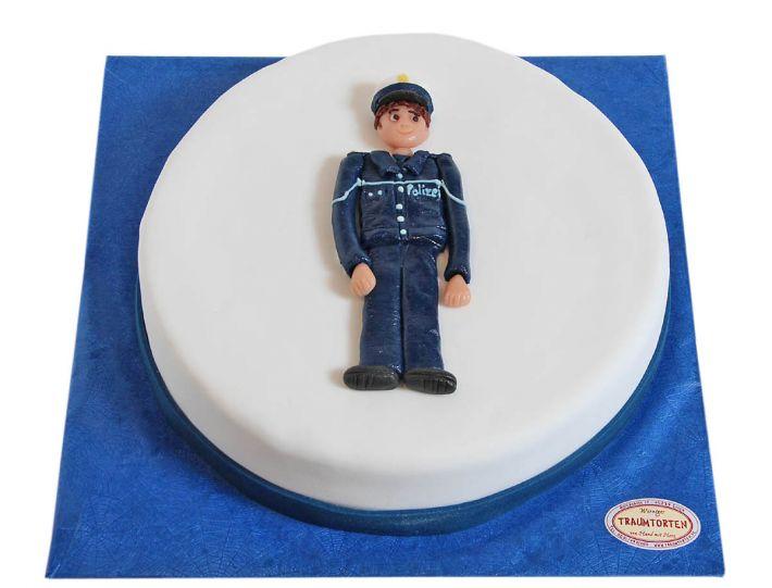 Polizisten Torte