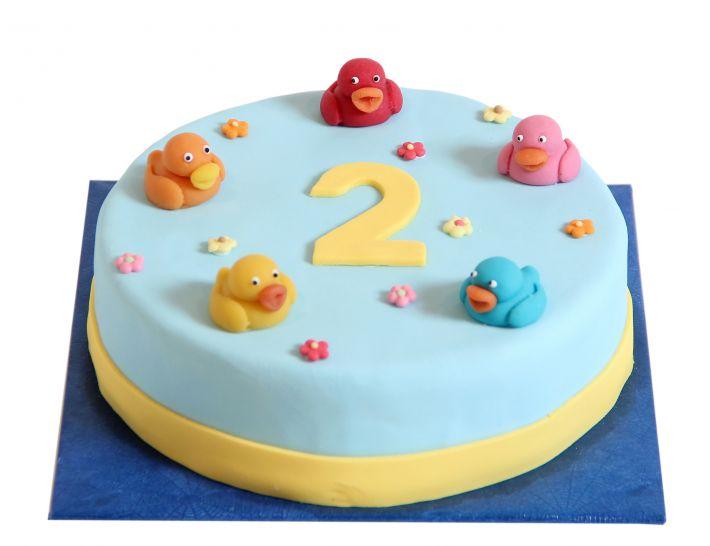 Quitsche Enten Torte