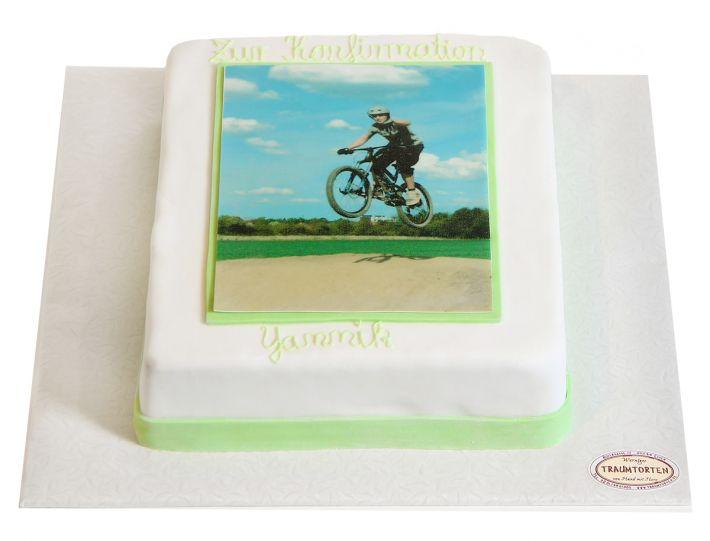 Rechteckige Foto II Torte