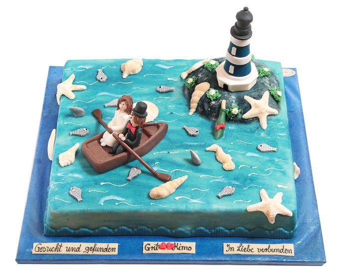 Reif für die Insel Torte