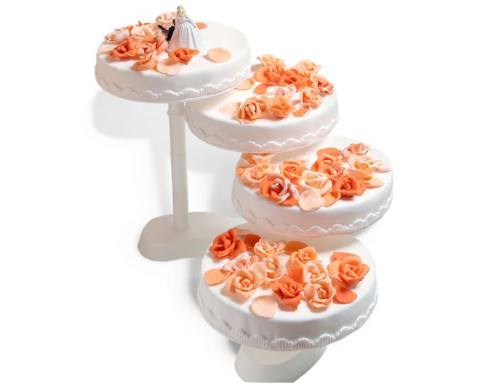 Rosenstufen Torte