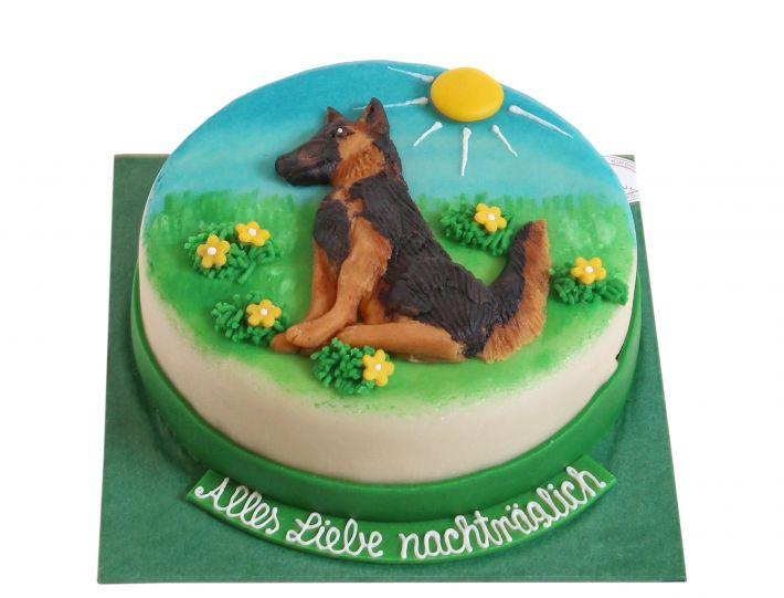 Schäferhund Torte