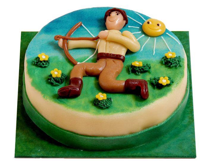 Schütze (23.11. - 21.12.) Torte