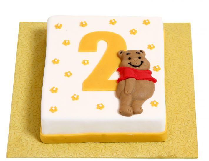 Teddybär Torte