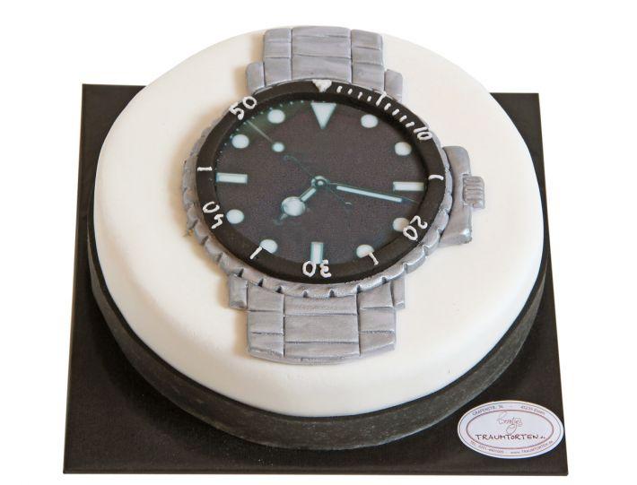 Uhren Torte