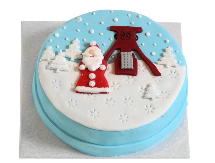 Weihnacht auf der Zeche Torte