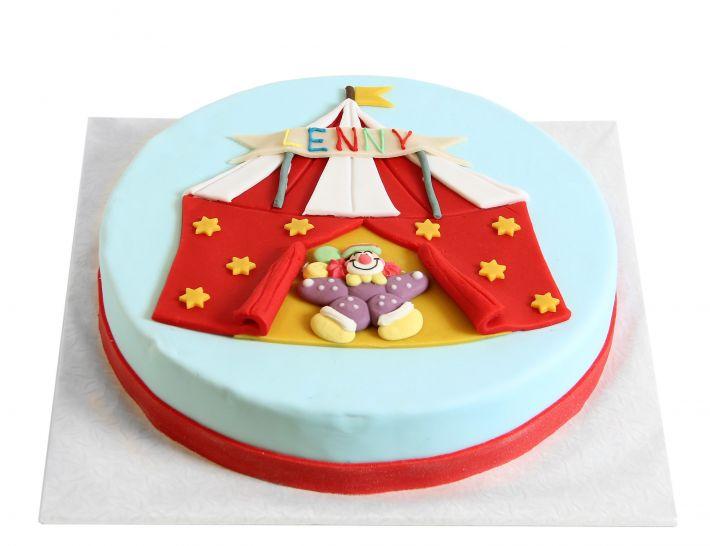 Zirkuszelt Torte