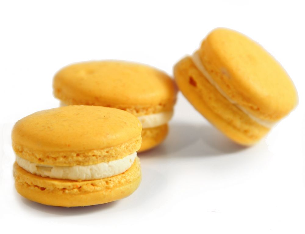 10 Limetten Macarons