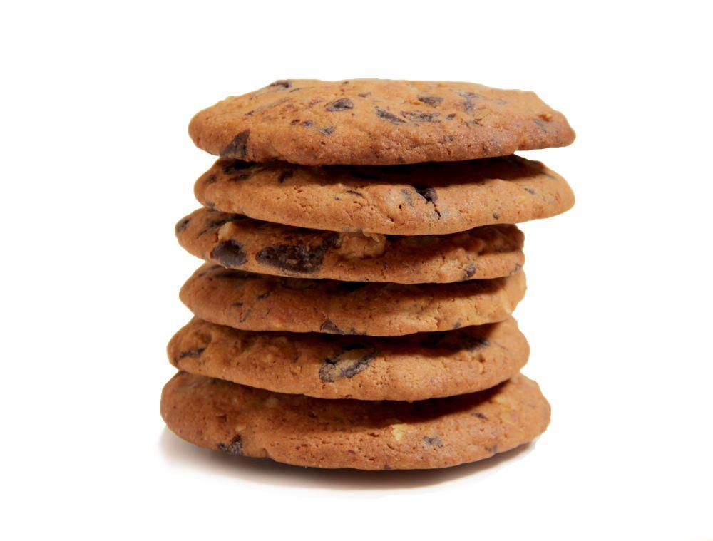 10 Schoko- oder  Nuss Cookies