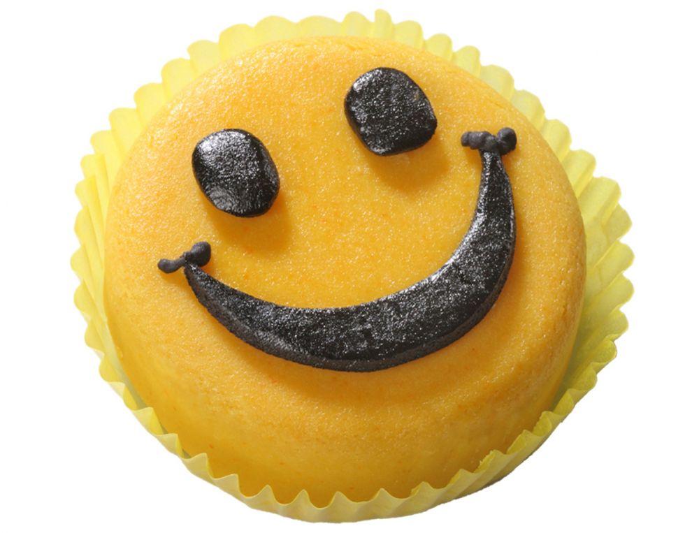 12 Mini Törtchen mit Smiley