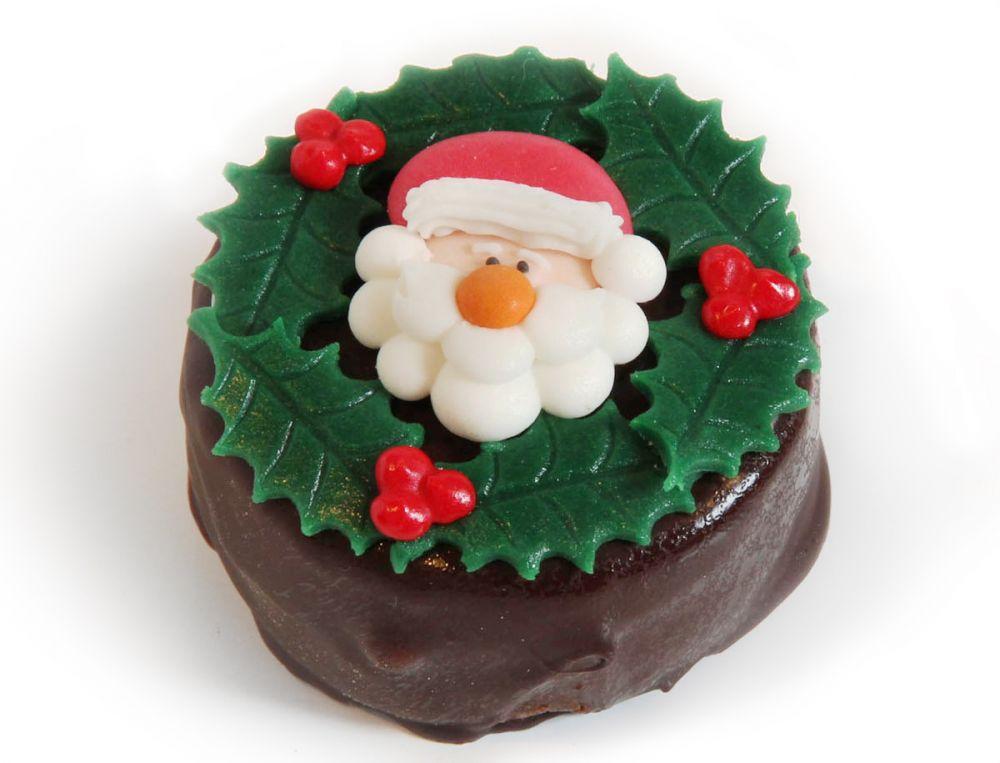 12 Weihnachts Törtchen Nikokopf & Ilex