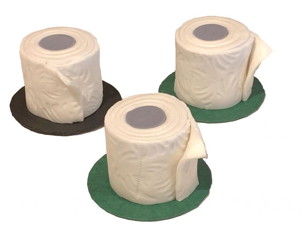 3 Toilettenpapier Torten