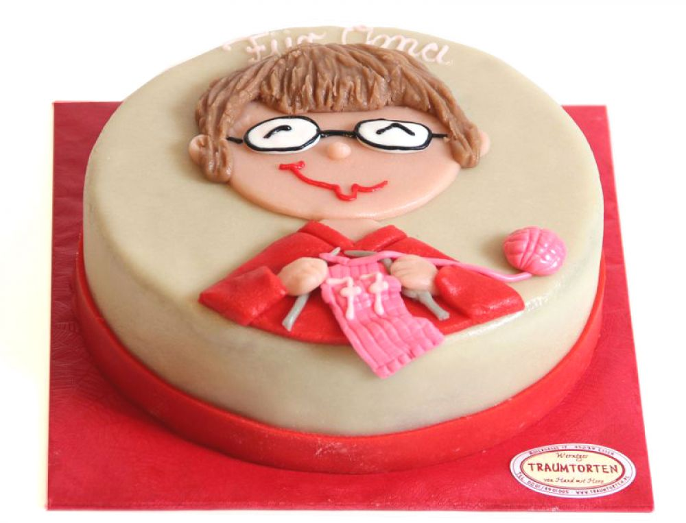 Strickoma Torte