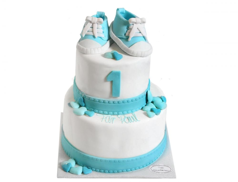 Babyschuhe Torte
