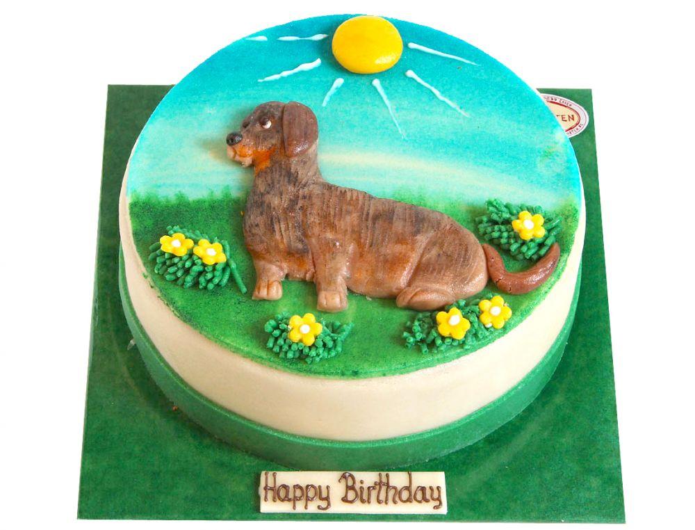 Dackel Torte