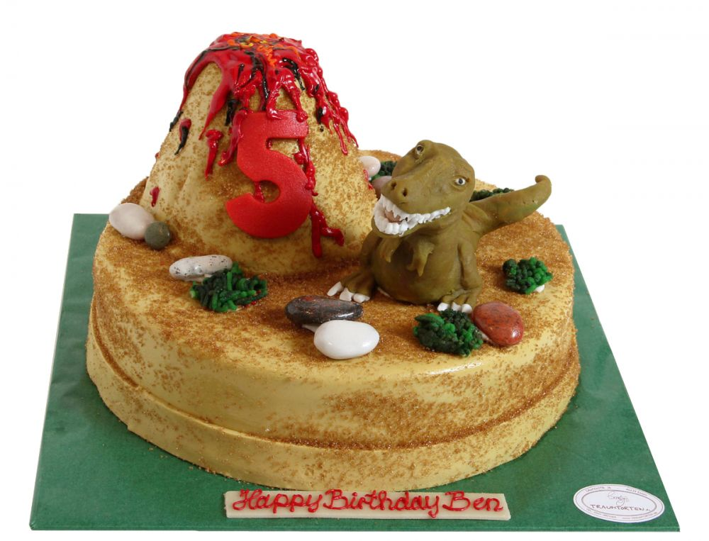 Dinosaurier Geburtstags Torte