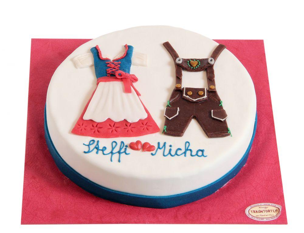 Dirndl & Lederhose Torte