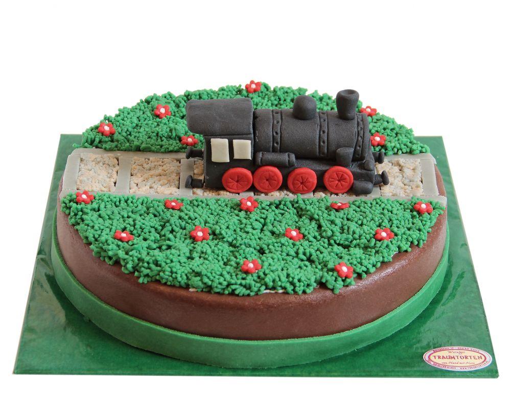 Eisenbahn Torte