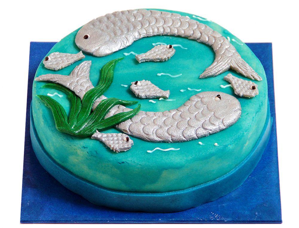 Fische (20.2. - 20.3.) Torte