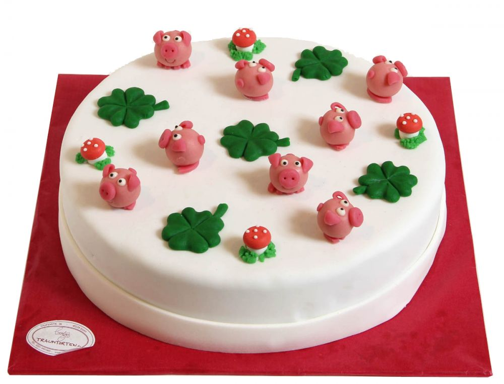 Glückssymbol Torte