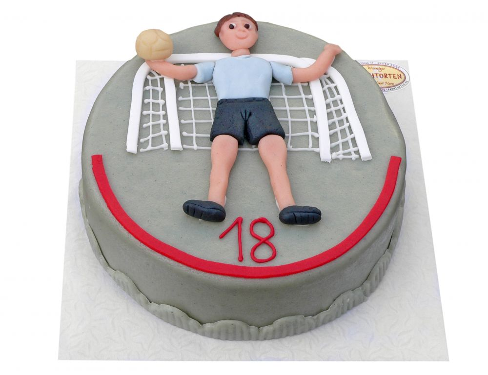 Handball Torwart Torte